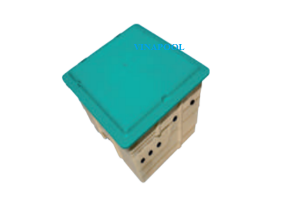 VianPool Boxes for pool equipment made of composite