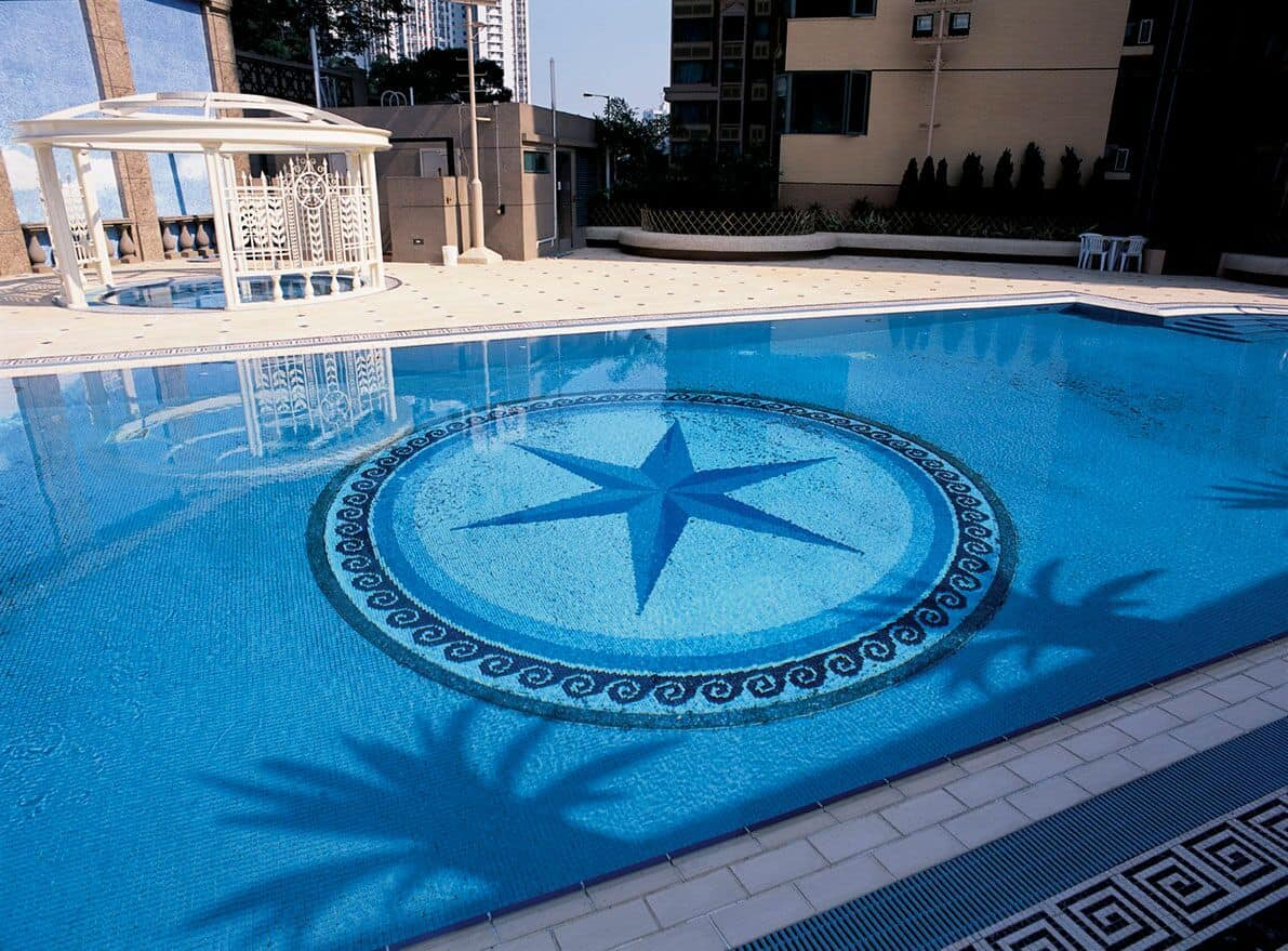 VianPool Mosaic design, Mosaic swimming pool