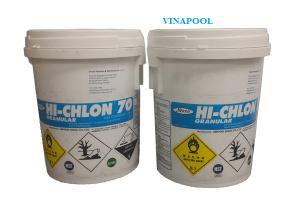 Hóa Chất hồ bơi Chlorin 70 % Nippon