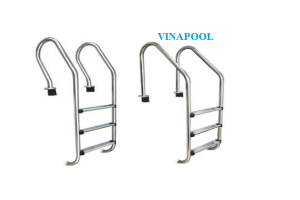 VianPool Stainless steel ladder with 2 steps