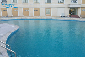 VianPool Tra Vinh Guest House Swimming pool