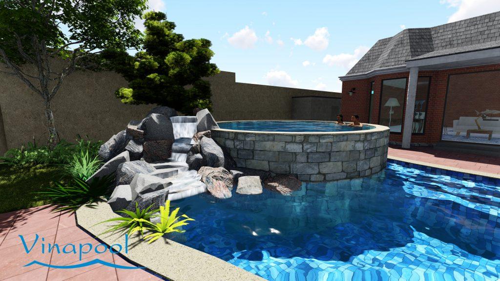 Thiết kế hồ bơi gia đình