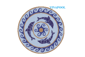 VianPool Brick print MU-PD209