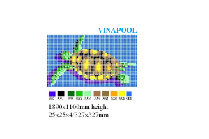 VianPool Brick print MU-PD229