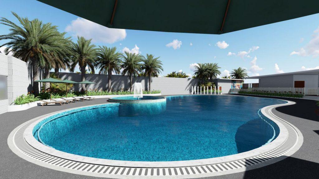 Vinapool thiết kế hồ bơi công cộng