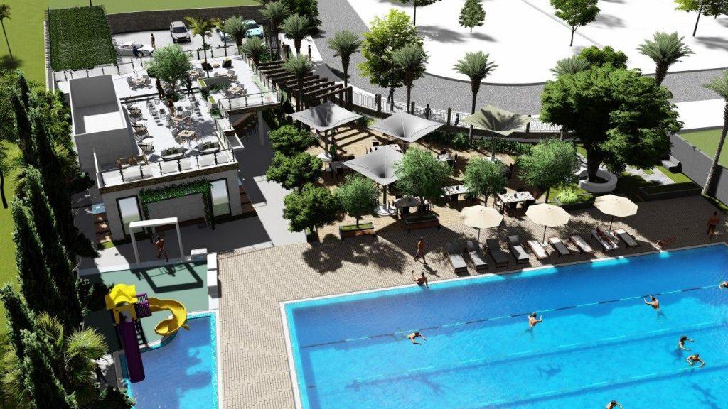 Vinapool Thiết kế hồ bơi dịch vụ công cộng-