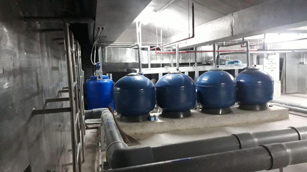 Phòng máy hồ bơi Madision Q.1