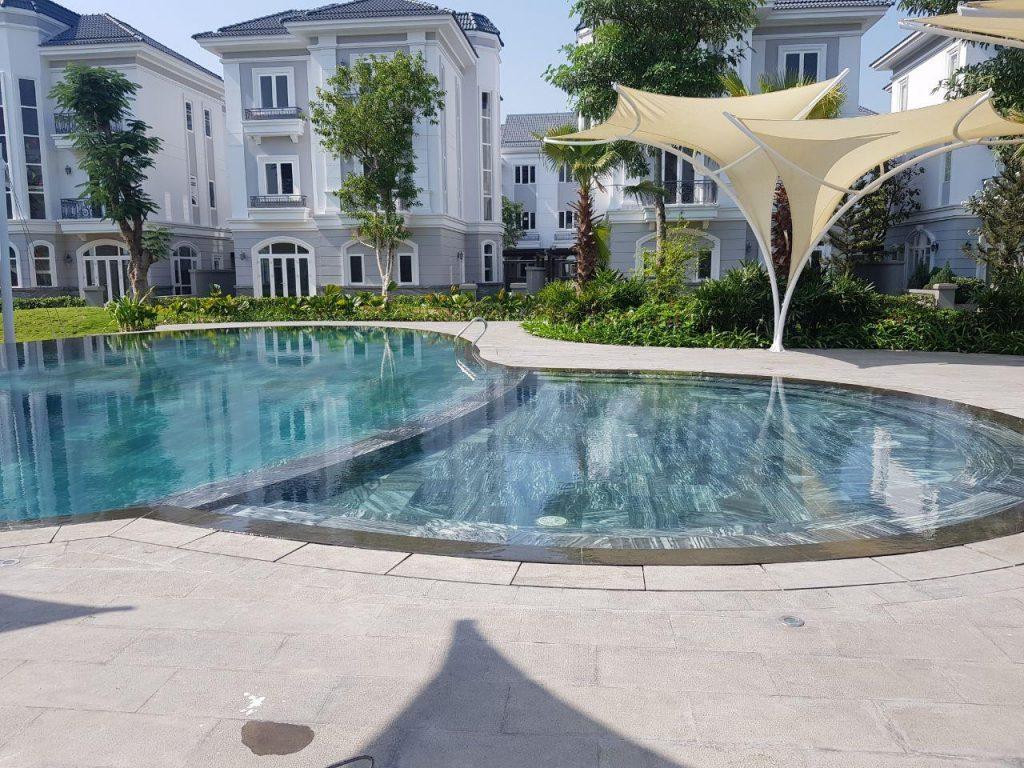 Hồ bơi Clubhouse Villas khu biêt thự cao cấp Soll Villas