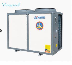 VianPool Máy bơm nhiệt nước nóng hồ bơi Luckingstar model LWH commercial