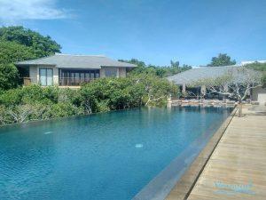 VianPool Cung cấp lắp đặt hệ thống nước nóng hồ bơi  - Heater pump Resort Amanoi
