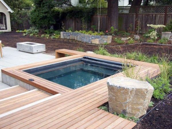 VianPool unique-hot-tub-deck-designs