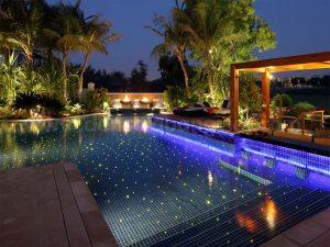 Đèn sợi quang hồ bơi, đèn sao hồ bơi