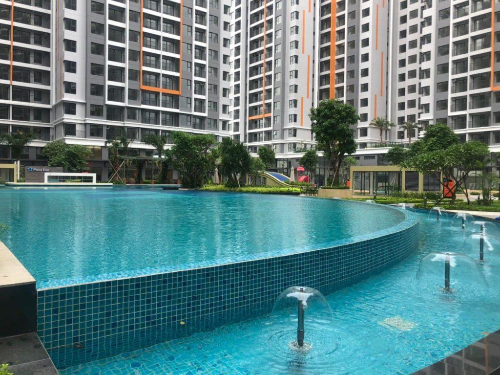Hồ bơi dịch vụ công cộng Safira Chủ đầu tư Khang Điền
