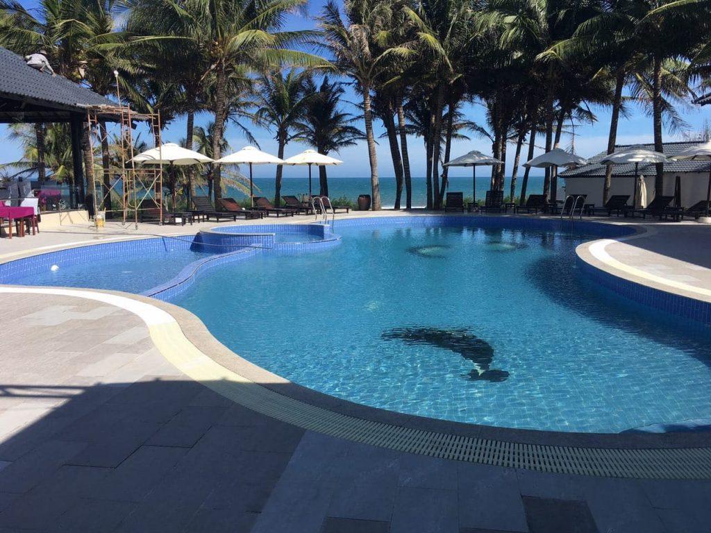 Hồ bơi Resort TTC Phan Thiết _Bình Thuận
