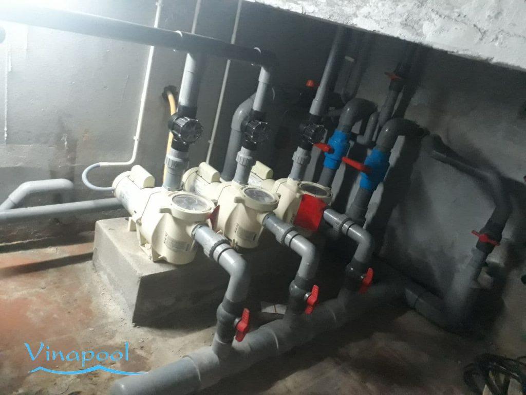 Phòng máy thiết bị Hồ bơi Resort TTC Phan Thiết _Bình Thuậ
