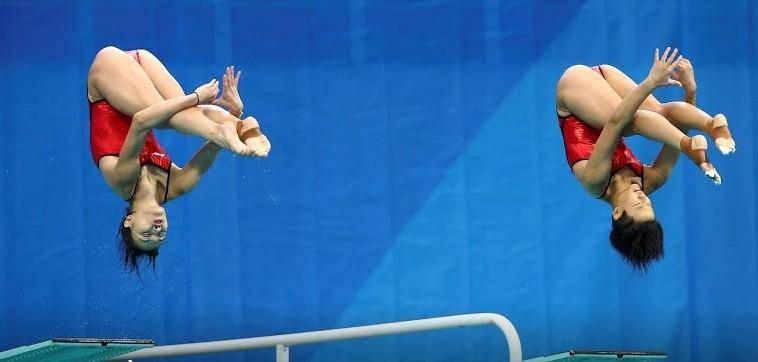 Những khoảnh khắc tuyệt đẹp ở môn nhảy cầu Olympic 2016