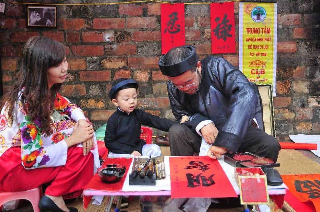 Khai bút đầu năm là nét đẹp truyền thống Việt Nam