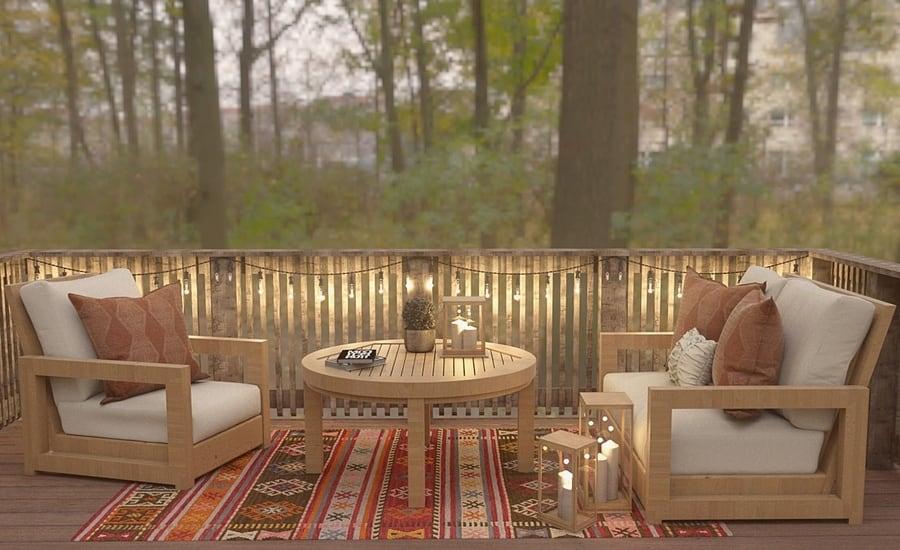 Lan can gỗ - điểm nhấn ấn tượng cho phong cách Á Đông