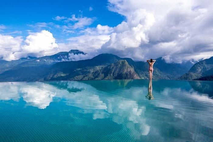 khách sạn có bể bơi vô cực ở Việt Nam-topas Sapa