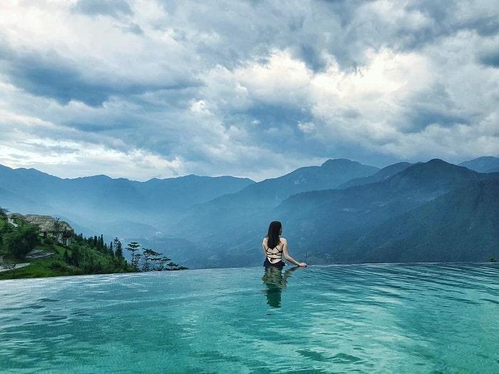 khách sạn có bể bơi vô cực ở Việt Nam - Belvedere Resort