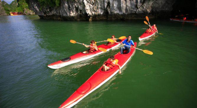 VianPool 7 điểm chèo thuyền kayak ở Việt Nam