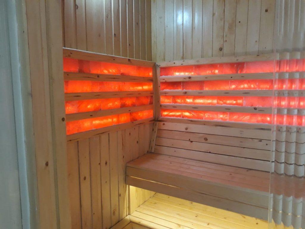 Phòng Xông Hơi Sauna Khu Spa  PREMIER VILLAGE PHU QUOC RESORT