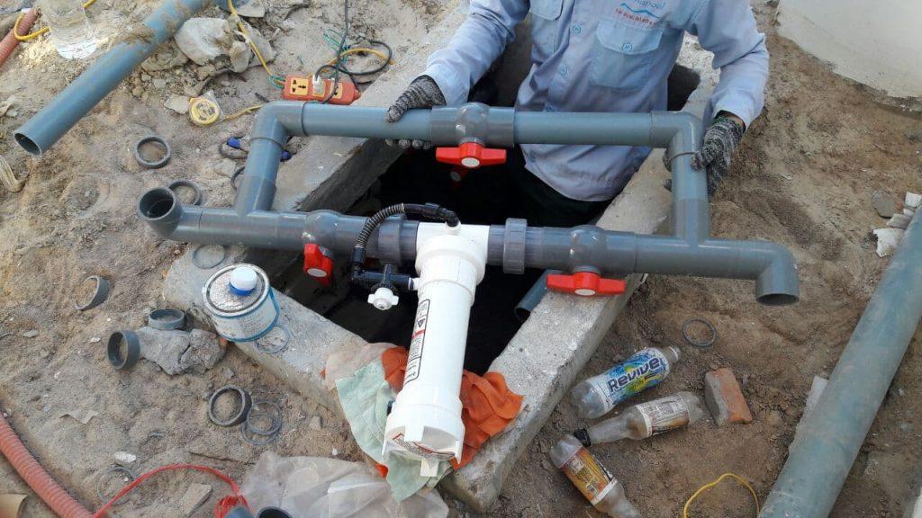 Công tác lắp đặt đường ống