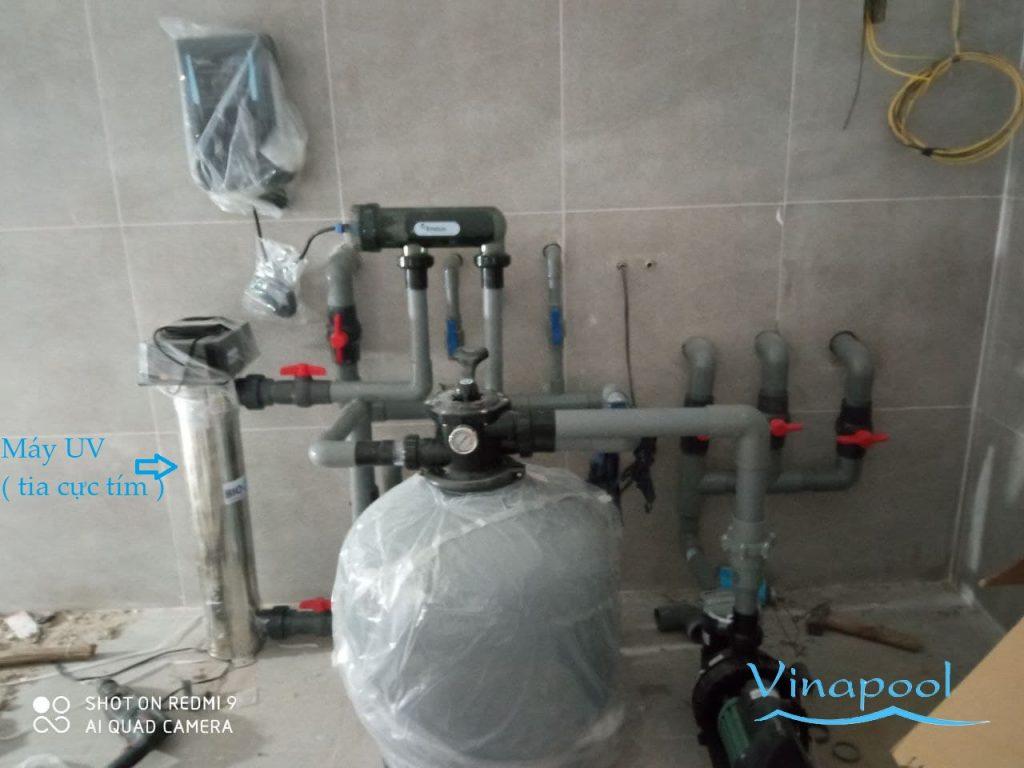 Hệ thống xử lý nước băng UV