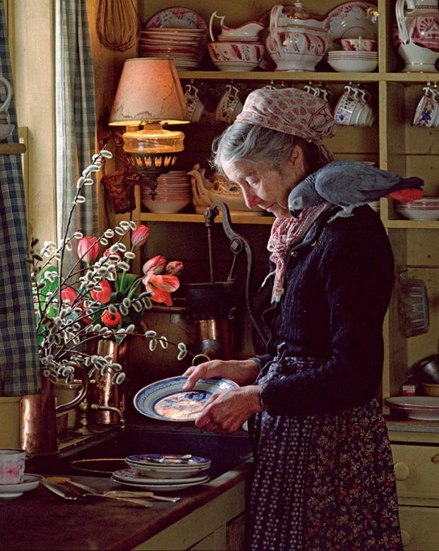 Bỏ phố về quê, bà cụ U100 biến mảnh đất quê thành căn nhà vườn trị giá 2 triệu USD, tận hưởng cuộc sống đẹp như tranh vẽ - Ảnh 11.